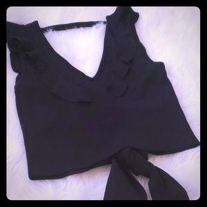 Beautiful blouse , beautiful black fall